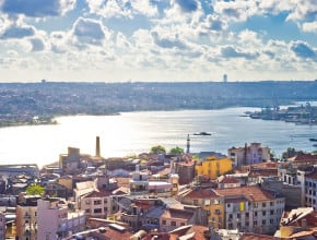 ALONG THE BAY OF GOLDEN HORN