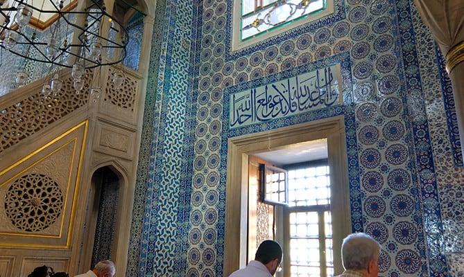 Rüstem Paşa Mosque  Istanbulite